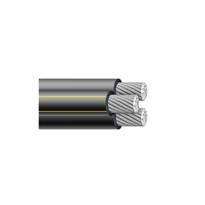 1/0-1/0-2 brenau triplex urd cable (direct burial