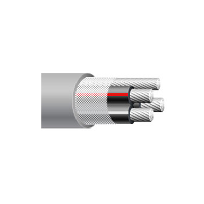 2-2-2 aluminum ser service entrance cable
