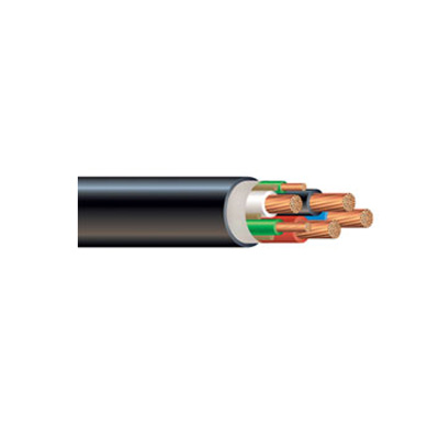 4/0 awg 4 conductor type g round portable power cable